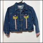 Minnie and Max Childrens Girls Denim Jacket Size Large