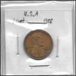 USA 1 Cent Wheat Penny coin 1926 in good shape