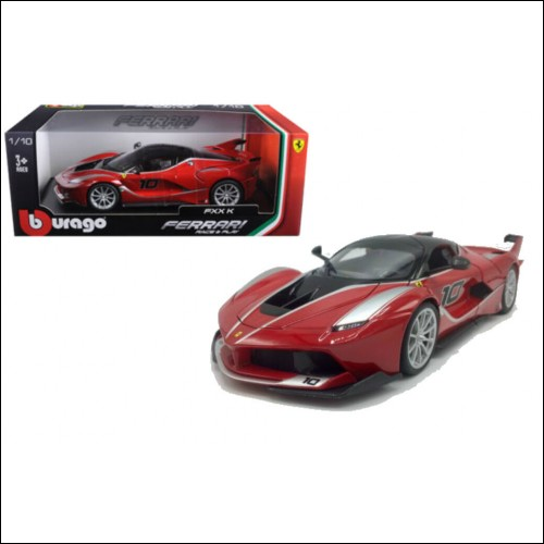 Ferrari FXX K Red 1/18 Scale Diecast Car Model By Bburago 16010