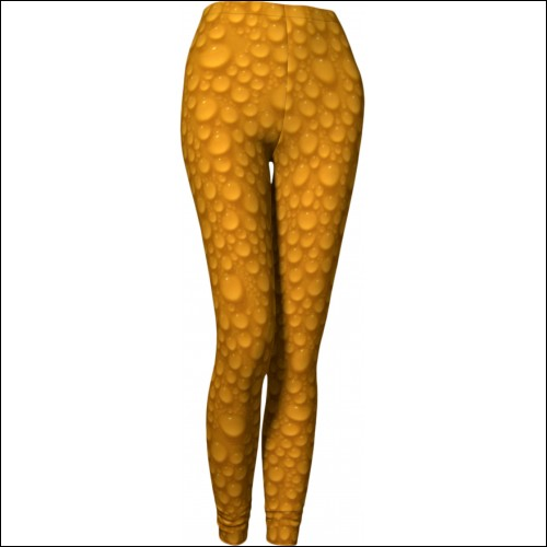 Net-Steals New Leggings from Canada - Orange Bubble