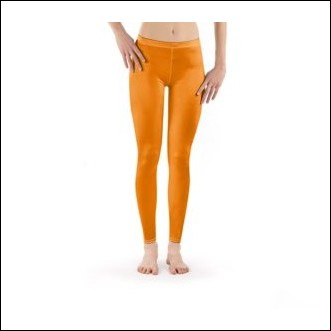 Net-Steals New for 2021, Leggings from Europe - Orangy Orange